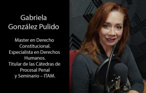 Gabriela González Pulido Derechos Humanos