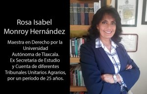 Maestra Rosa Isabel Monroy Hernández